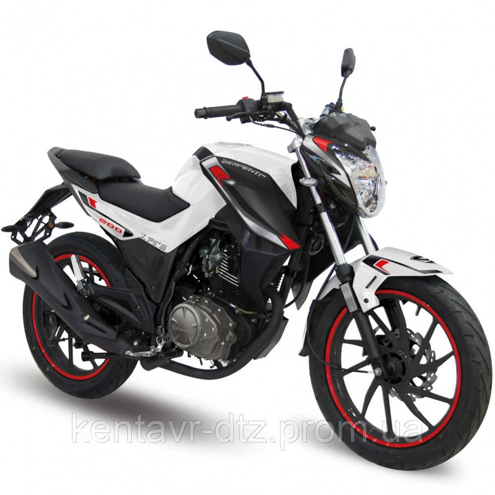 Мотоцикл SP200R–28