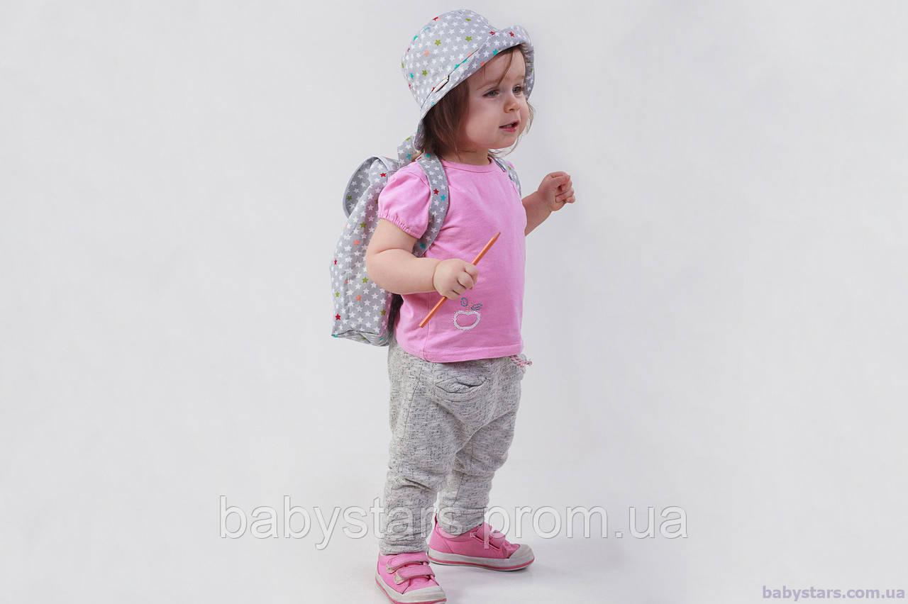 """Дитяча панама + рюкзак, """"Зірки"""""""