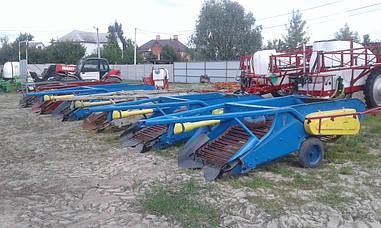 Картофелекопалка 2-х рядная польская Z609 (Agromet)