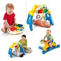 Коврики для малышей, активные центры, ходунки