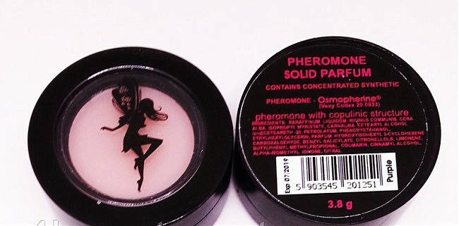 Твёрдые духи Solid Parfume с феромонами White — Versace Bright Crystal, 3,8 грамм , фото 2