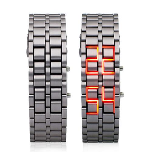 Часы led iron samurai купить часы деревянные с кукушкой купить