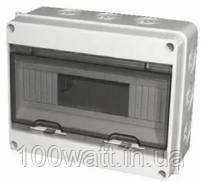 Бокс щиток наружного монтажа на 12 модулей герметичный IP65 ST925