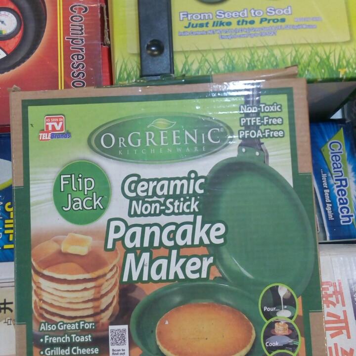 Двухсторонняя сковорода для приготовления блинов и панкейков Ceramic Non Stick Pancake Maker | блинница