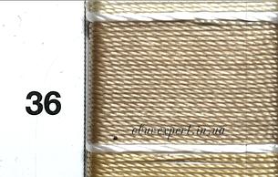 Швейная нить Gold Polydea 40 № 36, цв. светло-бежевый, фото 2