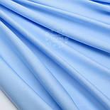 Лоскут сатина  премиум, цвет светло голубой,№1089, фото 2