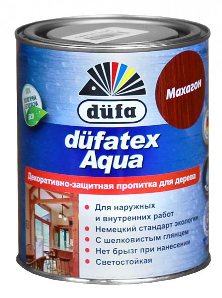 Пропитка Аква лазурь 0,75л ДУБ