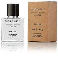Туалетная вода женская Versace Bright Crystal Absolu 50 ml, Orign Tester, эко упаковка