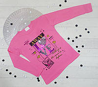 Джемпер кофточка детская из трикотажа для девочки 2-3,4-5,5-6,7-8,8-9 лет (5 ед. в уп.)