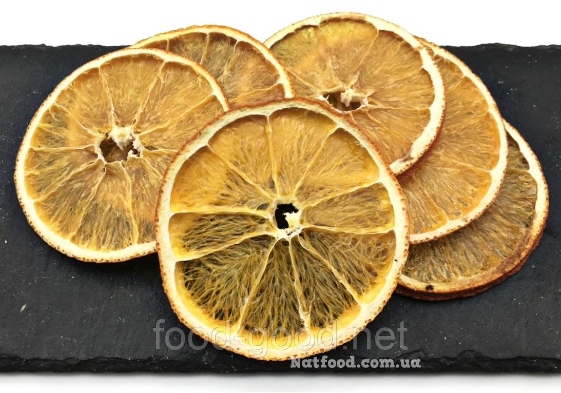 Апельсин сушеный натуральный, 100г.