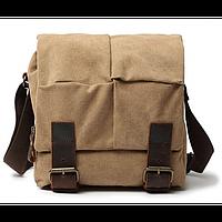 Крутая мужская сумка через плечо Bego арт. 1129khaki