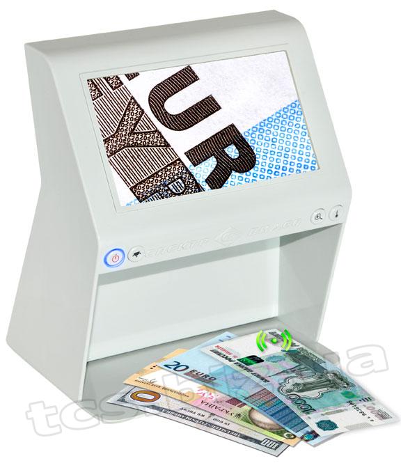 Спектр-Видео-7MА Універсальний відео-детектор валют (UV+IR+12х)