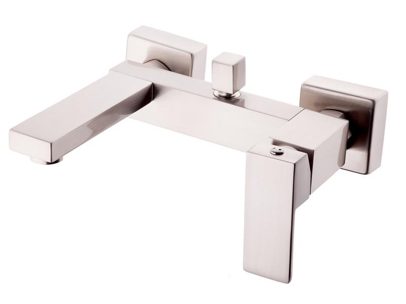 Смеситель для ванны (Латунь/матовый) Newarc Cubic 871511N (Турция)