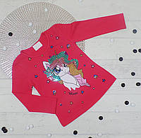 Джемпер кофточка детская из трикотажа для девочки 2,3,4,5 (4 ед. в уп.)
