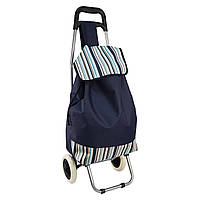 🔝 Дорожная сумка, Цвет - синий, сумка на колесах | 🎁%🚚