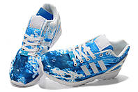 Женские кроссовки Adidas ZX Flux Sea, фото 1