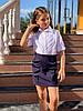 """Детская школьная юбка для девочки """"Алина"""" с воланами (3 цвета), фото 2"""