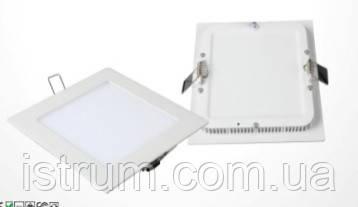 Светильник LED Downlight 18Вт 220В квадратный (Aluminum+PC)