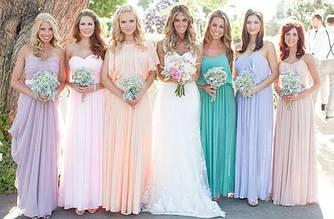 Весільні тенденції. Образ подружки і нареченої.