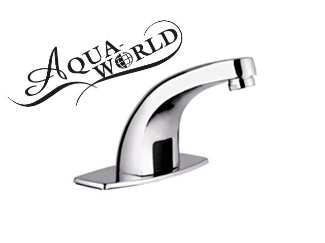 Смеситель для раковины бесконтактный, сенсорный Aqua-World СМ001.3