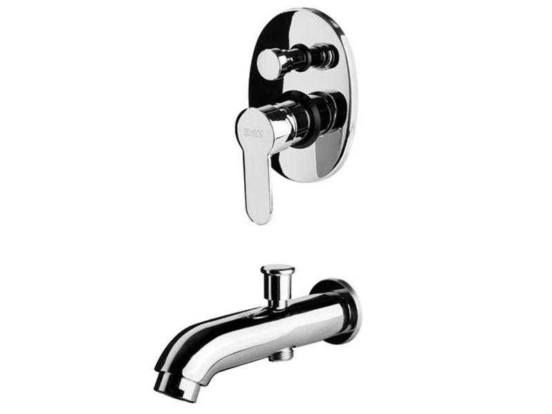 Смеситель для ванны 971131 NEWARC Domino латунь/хром (Турция)