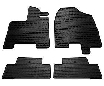 Килимки в салон гумові для Acura MDX 2013 - Stingray (к-кт 4шт)