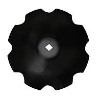 Диск бороны (ромашка) БГР (D=710мм, кв.42мм толщина 6мм) (СОЛОХА) БГР 4,2.20.20.00