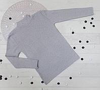 Гольф водолазка детский из трикотажа с микроначесом  9,10,11,12 лет (4 ед в уп) 5489612730302