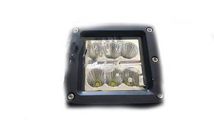 Фары LED ближний свет 15-30W 9-32V/6000K/IP67/6LEDx3W
