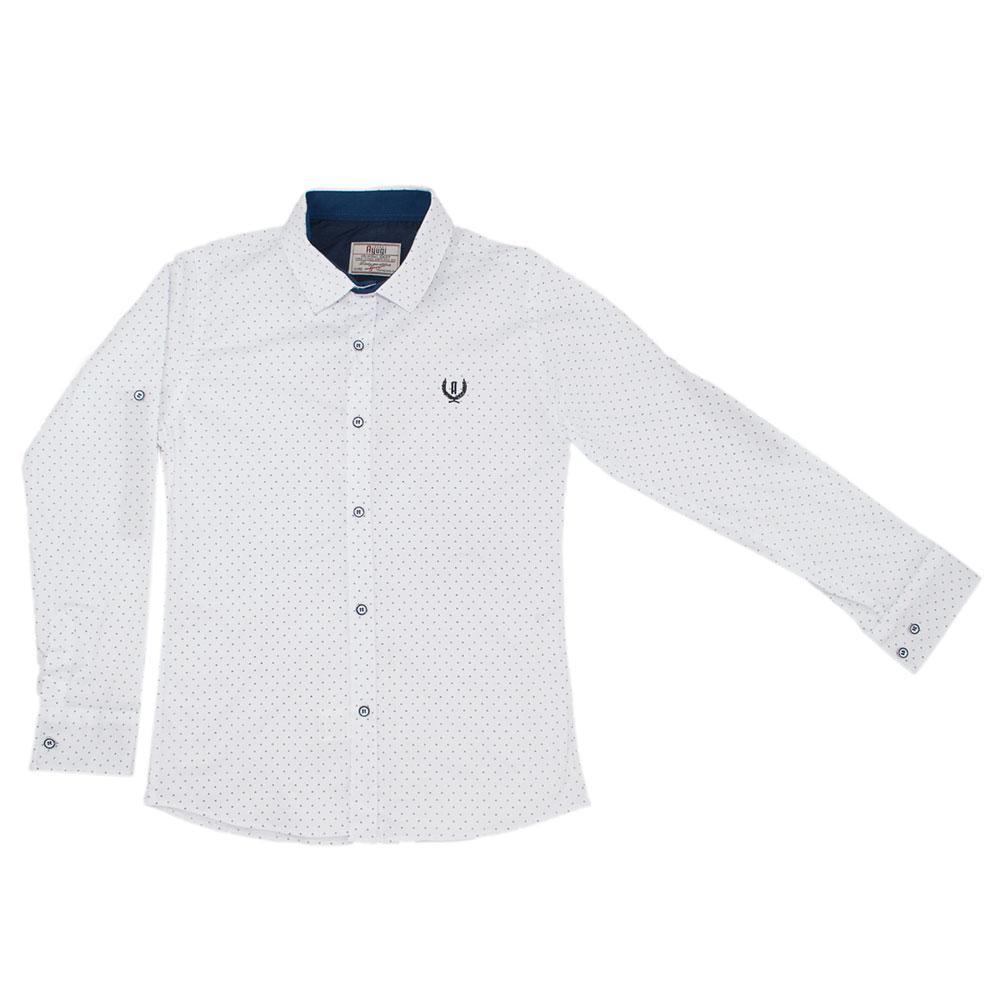 Рубашка для мальчиков A-yugi 170  белый 980478