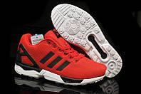 Женские кроссовки Adidas ZX Flux красные, фото 1