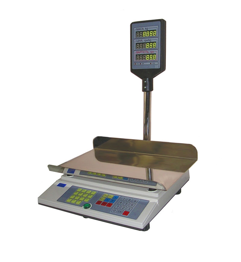 Весы электронные торговые ВТА-60/30-53-Ш