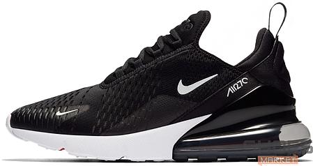 Женские кроссовки Nike Air Max 270 Black White AH8050-002, Найк Аир Макс 270, фото 2