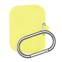 Чехол кейс Alitek для Apple AirPods Silicone Case Yellow