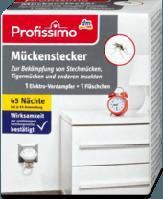 Profissimo Mückenstecker 1 Elektro-Verdampfer + 1 Fläschchen Электрический испаритель от комаров + запаска