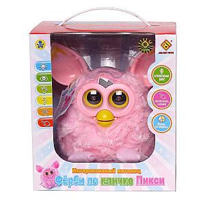 Интерактивная игрушка Фёрби JD-4888 розовый