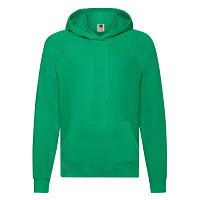 Мужская толстовка с капюшоном весна/осень ярко-зеленая - S, XL, 2XL, фото 1