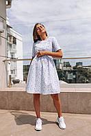 Платье мини со цветочным принтом, фото 3