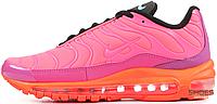 Женские кроссовки Nike Air Max Plus 97 Racer Pink AH8143-600, Найк Аир Макс Плюс 97