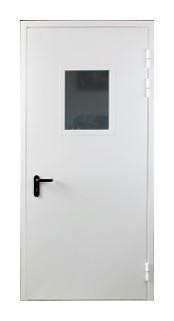 Двери противопожарные El-60 огнестойкие 2050*860 со стеклом. Производство. Сертификат.