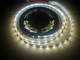 Светодиодная лента бабина 5 метров на SMD 5630 (5730) 60 LED на 1 м белый холодный