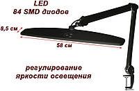Светодиодная лампа настольная с креплением к столу с регулировкой яркости освещения 8015 LED-А