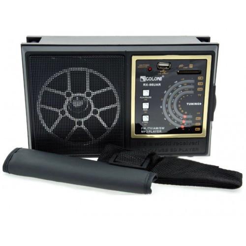 Радиоприёмник RX-98(UAR) USB/SD/FM Golon