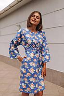 Женское платье Кимоно с принтом - в расцветки, фото 5