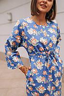 Женское платье Кимоно с принтом - в расцветки, фото 6