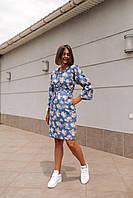Женское платье Кимоно с принтом - в расцветки, фото 7
