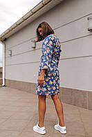 Женское платье Кимоно с принтом - в расцветки, фото 8