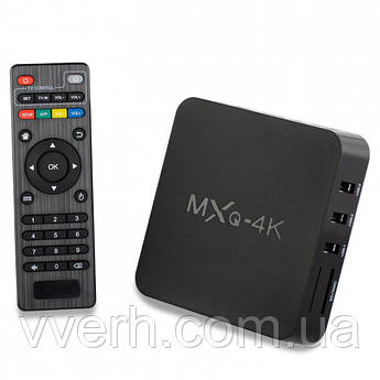 Смарт приставка GTM Android TV BOX MXQ 4k 1GB/8GB