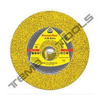 Круг відрізний по металу Klingspor A 24 Extra 230x3x22,23 GER