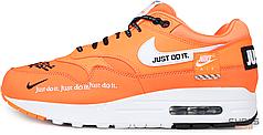 "Мужские кроссовки Nike Air Max 1 SE LX ""Just Do It"" Orange AO1021-800, Найк Аир Макс 1"